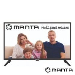 "Smart TV DLED 32"" HD USB DVB-C/T2/S2 Android - MANTA"
