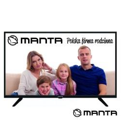 """TV DLED 40"""" FullL HD 3 HDMI USB DVB-T/C 2 Colunas 8W- MANTA"""