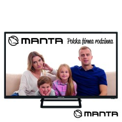 "Smart TV DLED 40"" Full HD USB 3 HDMI Android - MANTA"