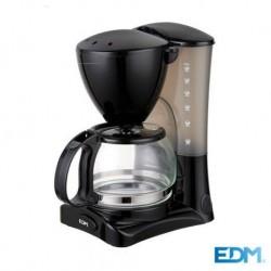 Maquina de Café de Filtro 6 Doses 550W - EDM