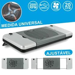 Base De Refrigeração P/ Portátil Universal USB