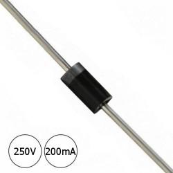 Diodo Rectificador BAV21 - 250V 200mA