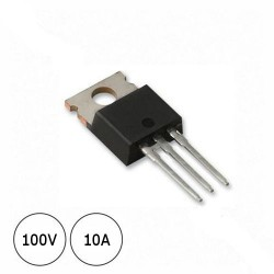 Diodo MBRF10100CT 100V 10A
