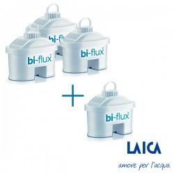 Kit 3+1 filtros biflux - LAICA