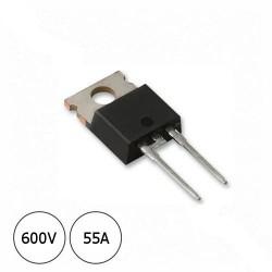 Diodo STTA506F 600V 55A