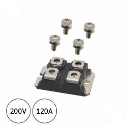 Diodo Rectificador STTH20002TV1 200v 120A