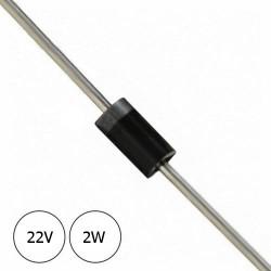 Diodo Zener 22V 2W
