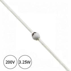 Diodo Zener BZT03-C200 200v 3.25w