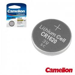 Pilha Lithium Botão Cr1620 3V 70Ma - Camelion