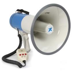 Megafone 60W com MP3/USB/SD/AUX + Sirene, Microfone - VONYX