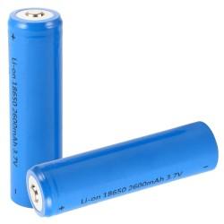 Bateria Lithium 18650 3.7V 2600MA Recarregável