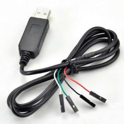 Cabo Conversor USB Serial TTL RS232 (PL-2303)