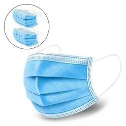 Mascara de Proteção Anti Bacteriana 3 Camadas