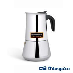 Cafeteira INOX 4 Chávenas - ORBEGOZO