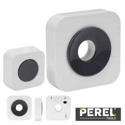 Campainha S/ Fios C/ 1 Receptor Portátil 100M - Perel