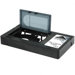 Conversor de Cassetes VHS-C - VHS Preto - NEDIS
