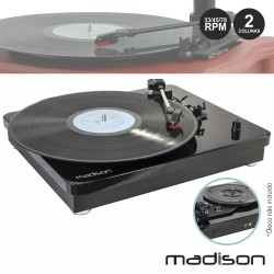 Gira-Discos 33/45/78RPM Vintage 2x6W - Madison