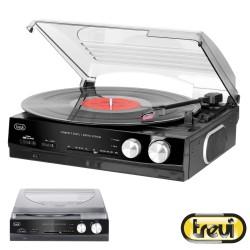 Gira-Discos 33/45Rpm 2x 5W C/ Rádio - TREVI