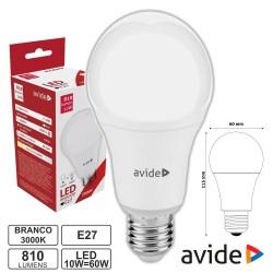 Lâmpada LED E27 Globo G60 10W 230V 3000K 810lm - Avide