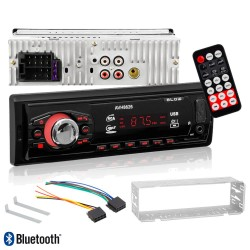 Auto Radio 50Wx4 Wma C/ FM/MMC/SD/USB/BT MP3 - Blow