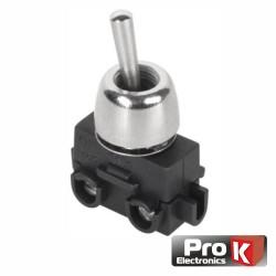 Interruptor Alavanca Miniatura Unipolar On-Off 2A - PROK