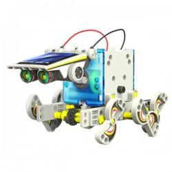 Kit Robô Solar Educativo 14 Em 1 - Velleman