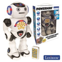 Robô Educativo Que Fala C/ Comando PoWerman - Lexibook