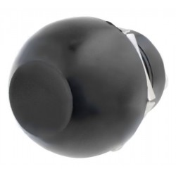 Botão interruptor de pressão unipolar SPST-NO OFF-(ON) 12VDC 10A Preto