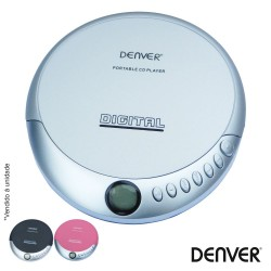 Leitor CD Portátil Discman – Denver