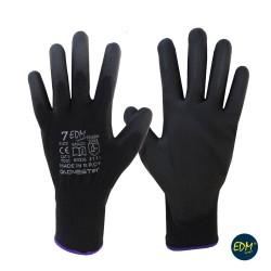 Luva Poliester S/ Costuras Revestimeno Poliuretano (Tamanho 8)