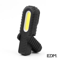Lanterna LED Recargavel de Luz Frontal C/ 2 Potências - EDM