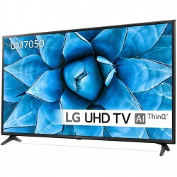 "TV LED 55"" UHD 4K-SMTV-100HZ - LG 55UM7050PLC"