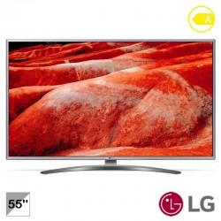 """TV LED 55"""" UHD 4K-SMTV-100HZ - LG 55UM7600PLB"""