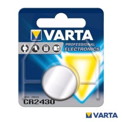 Pilha Litio Cr2430 3v - Varta