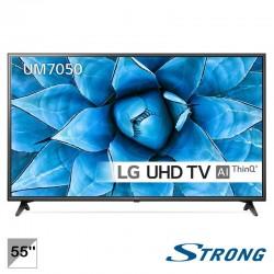 """TV LED 55"""" UHD 4K-SMTV-100HZ - LG 55UM7050PLC"""