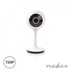 Câmara Vigilância HD 720P Wifi IP Inteligente - Nedis