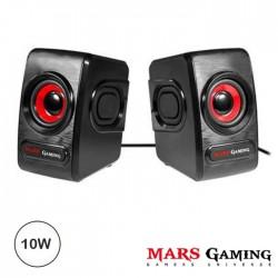 Coluna Mars Gaming 2.0 10w rms - Preta