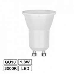 Lampada Led Gu10 1.8w 6500k 140lm Ø35mm