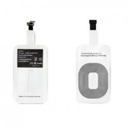 Receptor para carga com tecnología Qi para dispositivos Apple