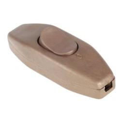 Interruptor de Passagem Bipolar 4A 250V - Dourado
