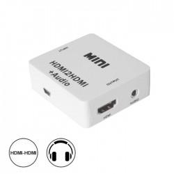 Conversor Hdmi -» HDMI C/ Audio Amplificado Spdif