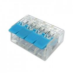 Ligador Rapido 4 Ligações - Azul