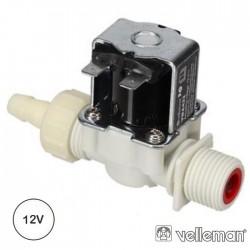 Válvula De Água 12VDC 0.2-8 BAR 8MM - VELLEMAN