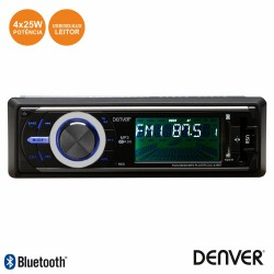 Auto Radio Mp3 25wx4 C/Fm/Pll/Mmc/Sd/Usb Bluetooth - Denver