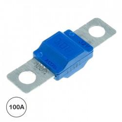 Fusível auto midival 100A Azul