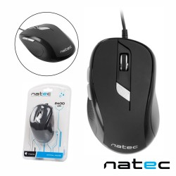 Rato Optico Usb 800/2400Dpi Preto - Natec