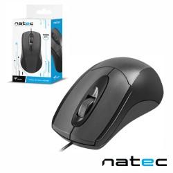 Rato Optico Usb 1000Dpi Preto - Natec