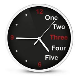 Relógio de Parede Analógico Branco 20Cm - Esperanza