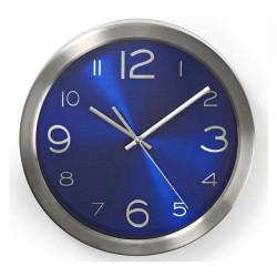 Relógio de Parede Analógico Azul 30Cm - Nedis
