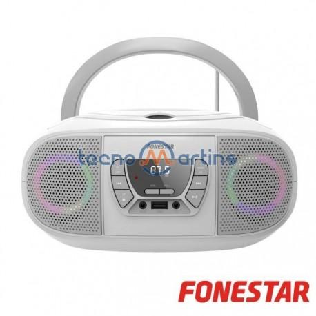Radio CD, BT, Usb, Fm C/ Entrada Auxiliar - Fonestar
